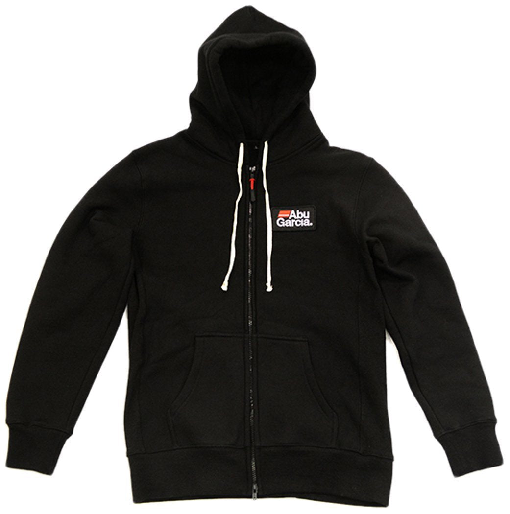 Abu Garcia Logo Embroidery Full Zip Fleece Lined Hoodie