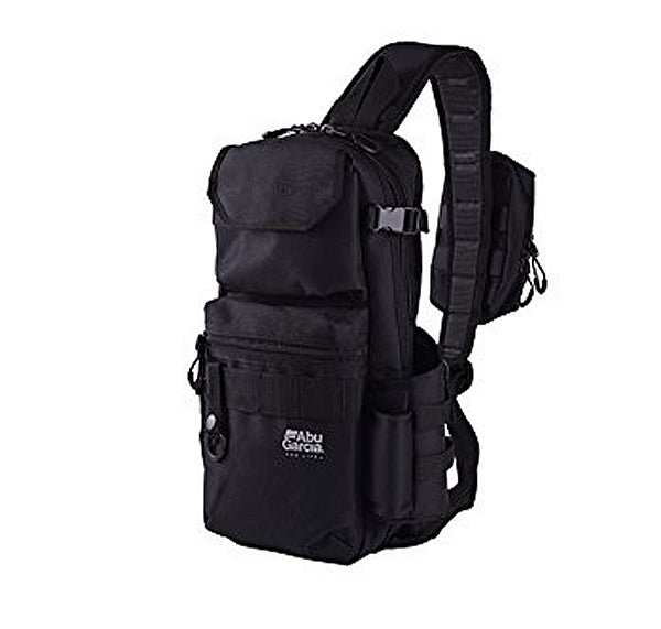 Abu Garcia One-shoulder bag Sling body bag Black