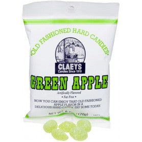 Sanded Candy -Claeys Green Apple