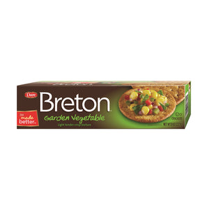 Crackers Garden Vegetable - Breton
