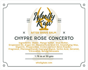 Chypre Rose Concerto After Shave Balm