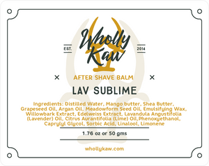 Lav Sublime After Shave Balm
