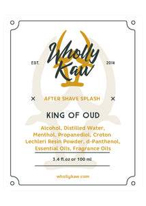 King of Oud After Shave Splash