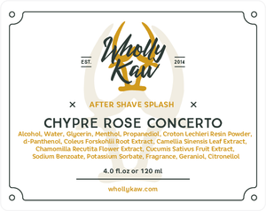 Chypre Rose Concerto After Shave Splash