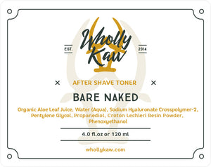 Bare Naked After Shave Toner