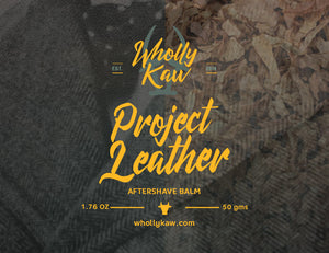 Project Leather After Shave Balm