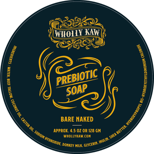 Prebiotic Soap - Bare Naked