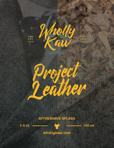 Project Leather After Shave Slash