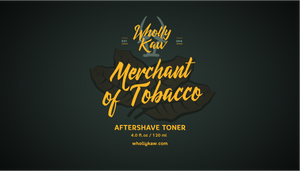 Merchant of Tobacco After Shave Toner