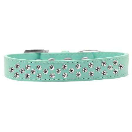 Sprinkles Dog Collar Clear Crystals - Petponia