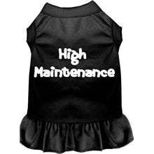 Load image into Gallery viewer, High Maintenance Screen Print Dress - Petponia
