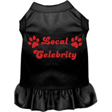 Load image into Gallery viewer, Local Celebrity Screen Print Dress - Petponia