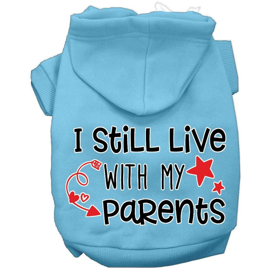 Still Live with my Parents Screen Print Hoodie - Petponia