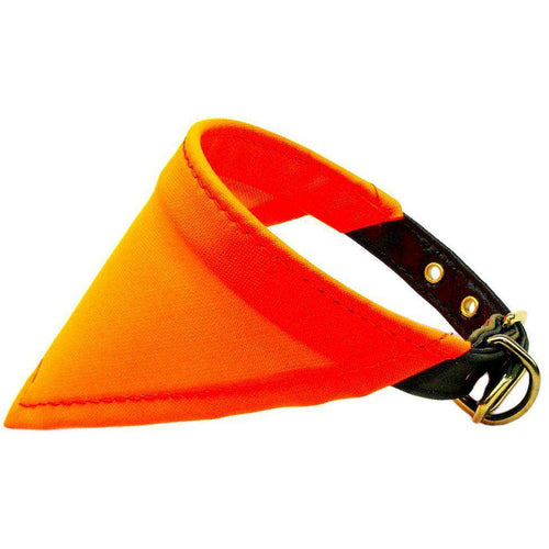 Hunting Bandana Collar Orange - Petponia