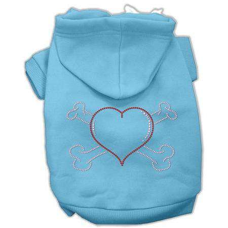 Heart and Crossbones Hoodies - Petponia