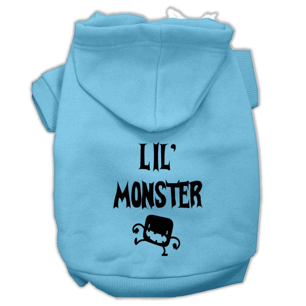 Lil Monster Screen Print Pet Hoodies - Petponia
