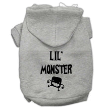 Load image into Gallery viewer, Lil Monster Screen Print Pet Hoodies - Petponia