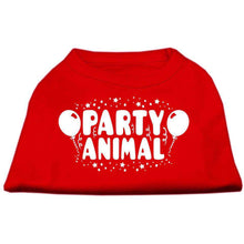 Load image into Gallery viewer, Party Animal Screen Print Shirt - Petponia