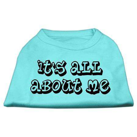 It's All About Me Screen Print Shirts - Petponia