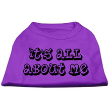 Load image into Gallery viewer, It's All About Me Screen Print Shirts - Petponia