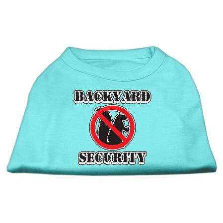 Backyard Security Screen Print Shirts - Petponia