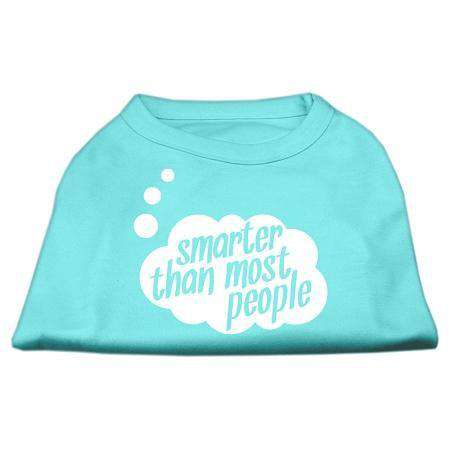 Smarter then Most People Screen Printed Pet Shirt - Petponia