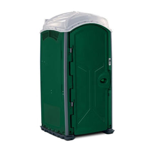 Portable Toilet - Deluxe Flushing Porta Potty with Sink