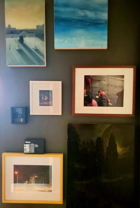 the-medusa-project - Gallery Wall of Original Work - The Medusa Project - Oil on Panel