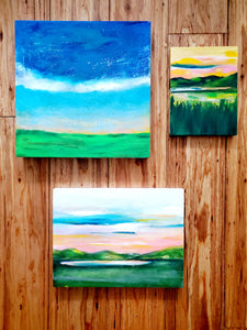Oil Painting Gallery Wall