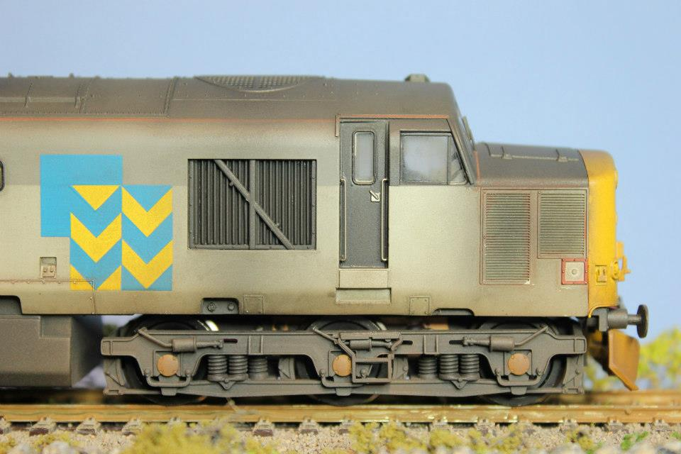 Bachmann Class 37 Bespoke Weathering at Modellers Mecca