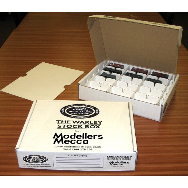 The Warley Stock Box (OO Gauge Pack of 12)