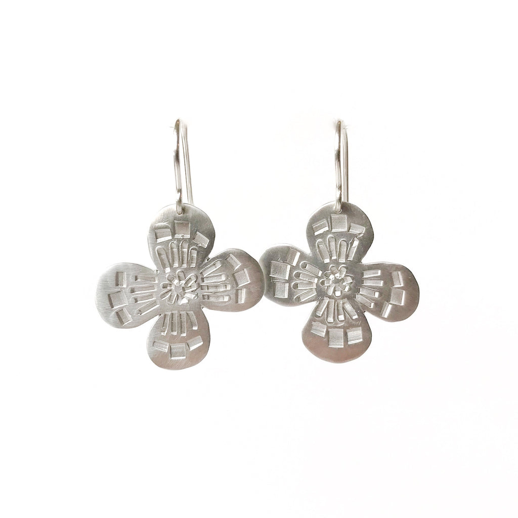 Muse Flower Earrings - Milly Thomas