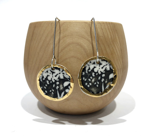 Porcelain Flora Earrings - Pilar Rojas