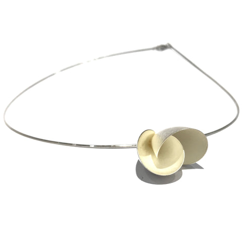 Tulip Silver Necklace - Tip to Toe