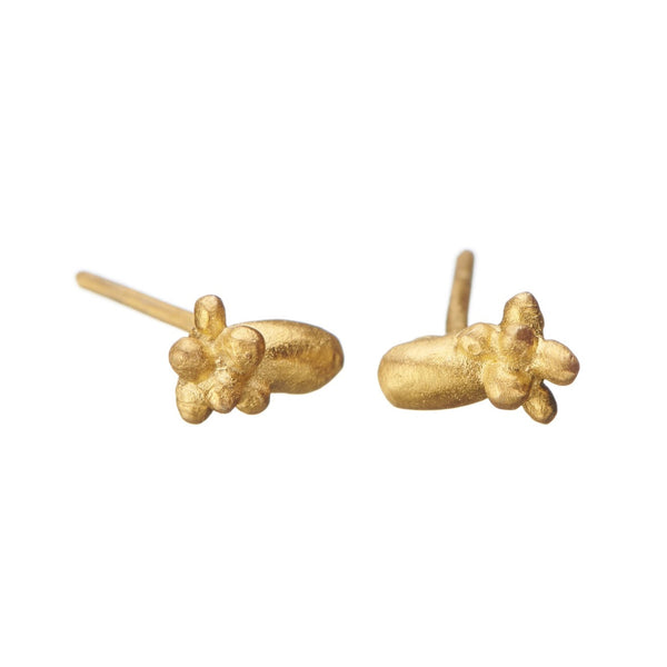 Mini Fruity Cluster Gold Studs - Shabana Jacobson