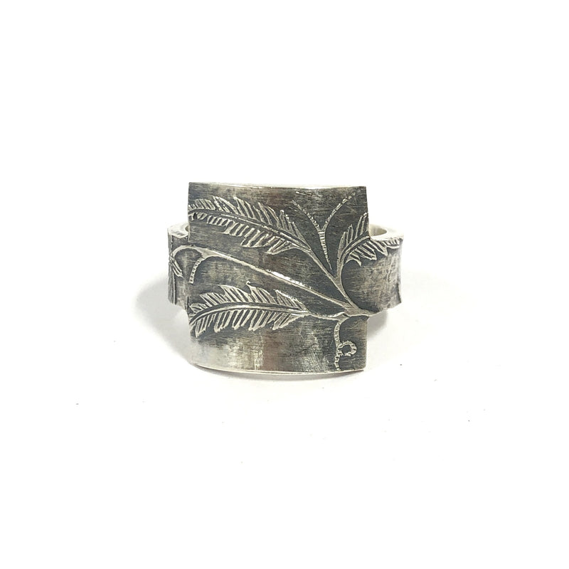Victorian Square Face Ring - Cynthia Nge