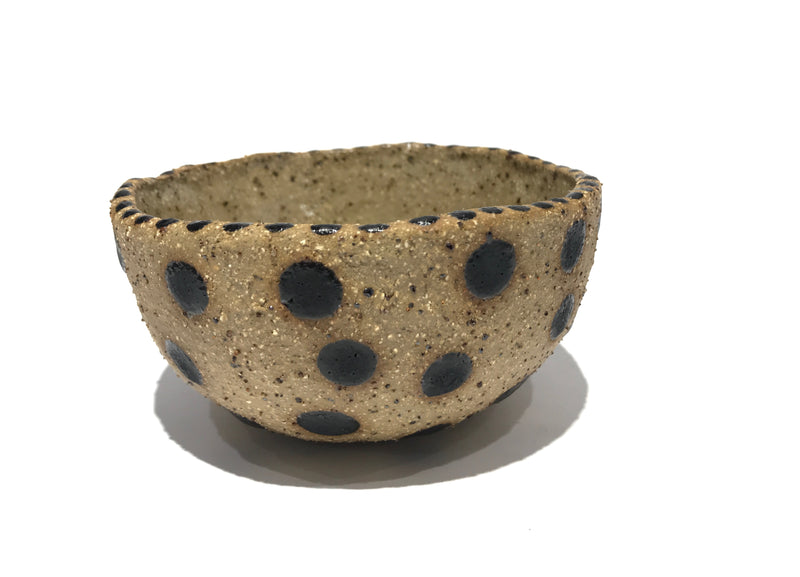 Spotty Small Bowl - Pink Wheat Creative