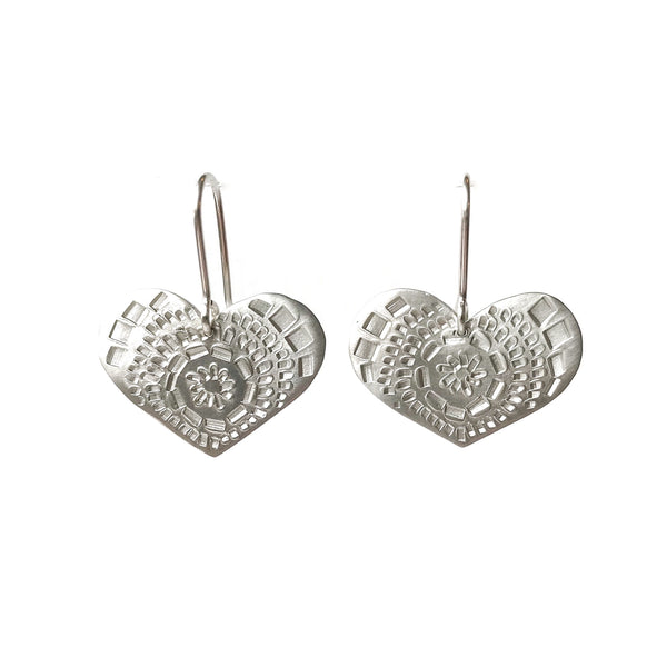 Muse Heart Earrings - Milly Thomas