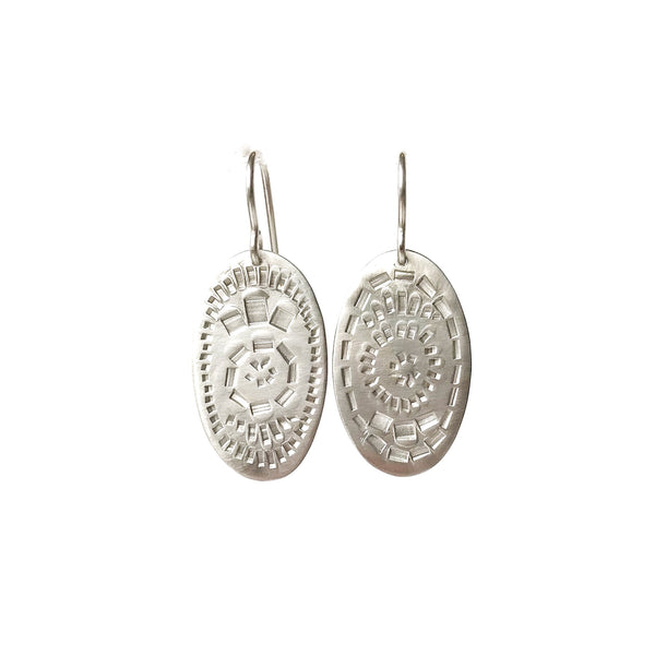 Muse Oval Earrings - Milly Thomas