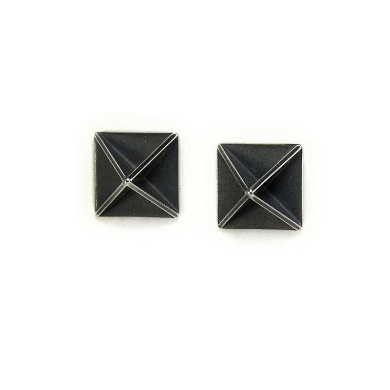 Pop Up Square Studs -  Erica Bello