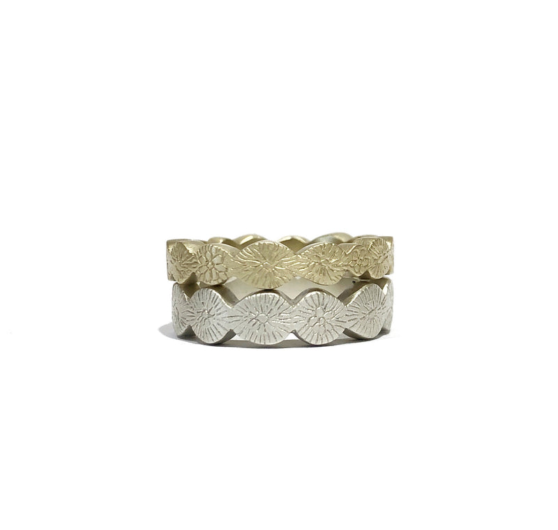Engraved Eternity Band 9ct Yellow Gold - Milly Thomas
