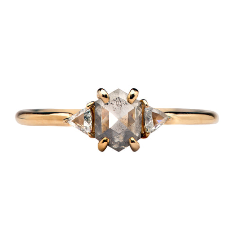 Hex Zoe Diamond Ring - Point No Point