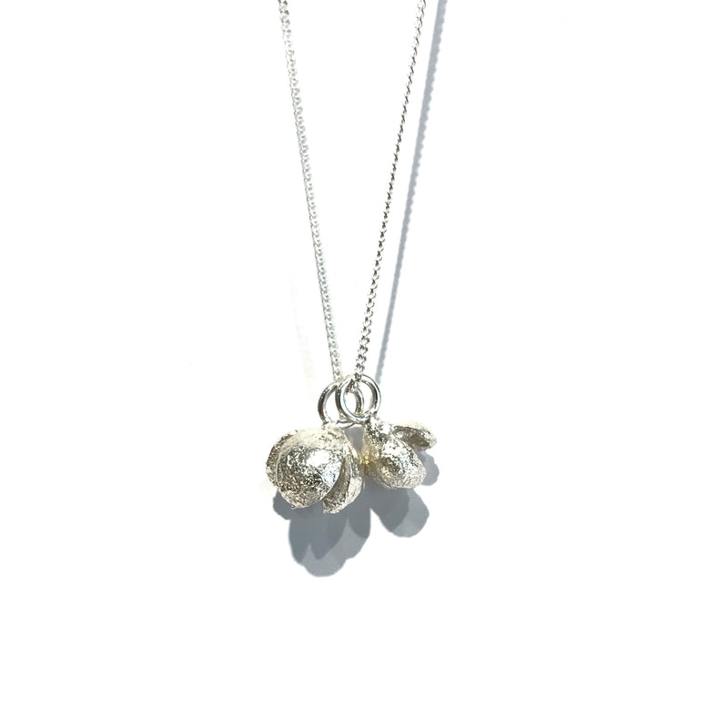 Double Tree Nut Necklace- Shabana Jacobson