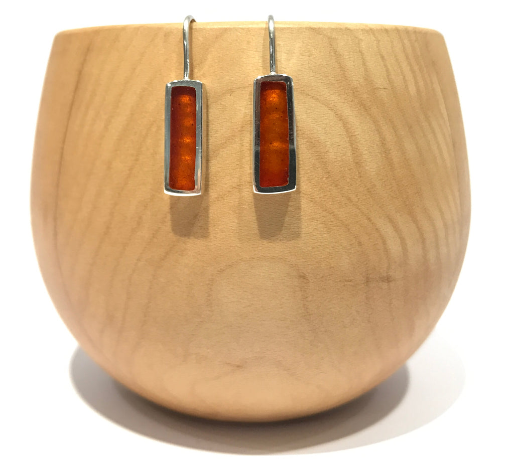 Rectangle Drop Earrings - Christine Battochio