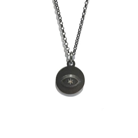 Third Eye Charm Necklace -  Erica Bello