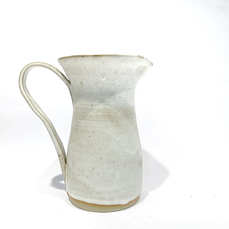 White Large Jug - LK Ceramics