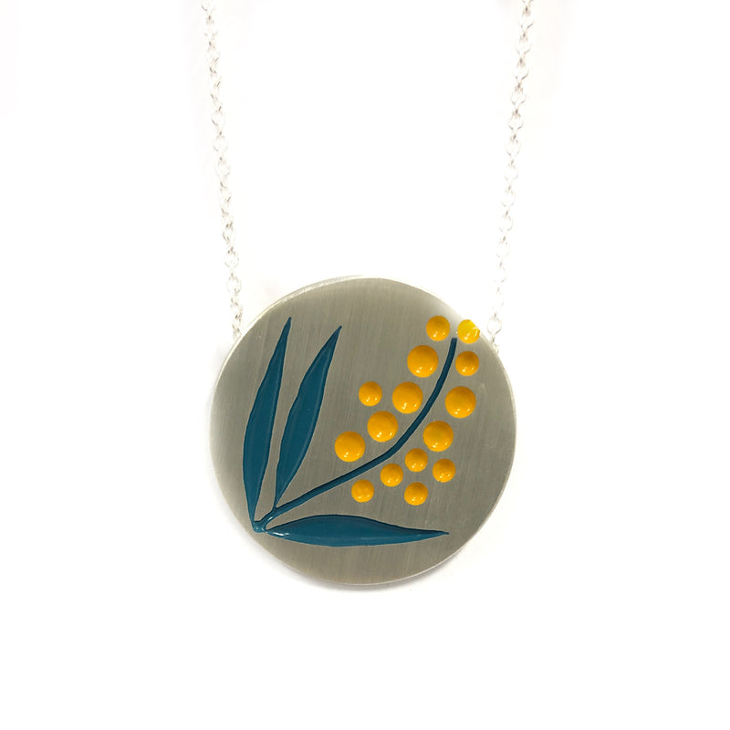 Large Wattle Necklace - Emma Kidson