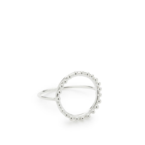 Cloud Silver Ring - Abby Seymour