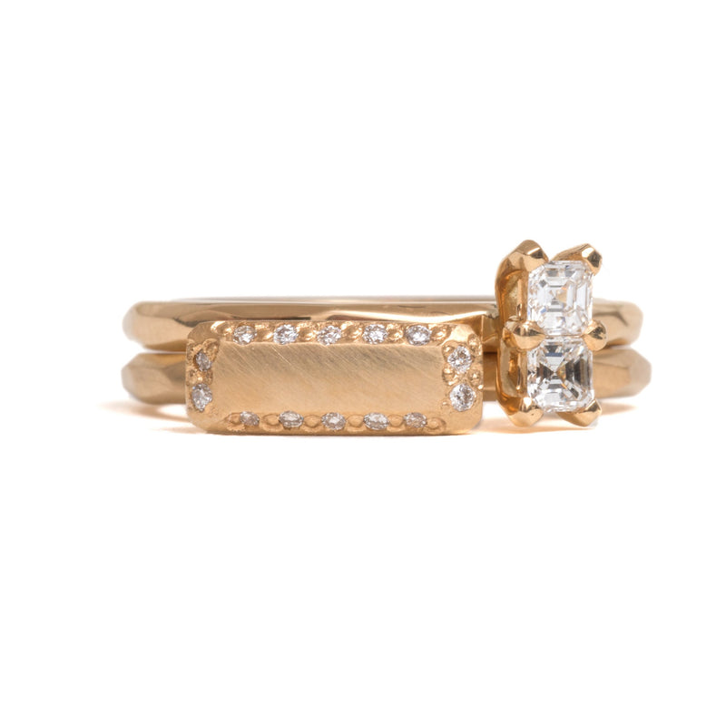 Asscher Cut Soul Mate Diamond Ring - Krista McRae