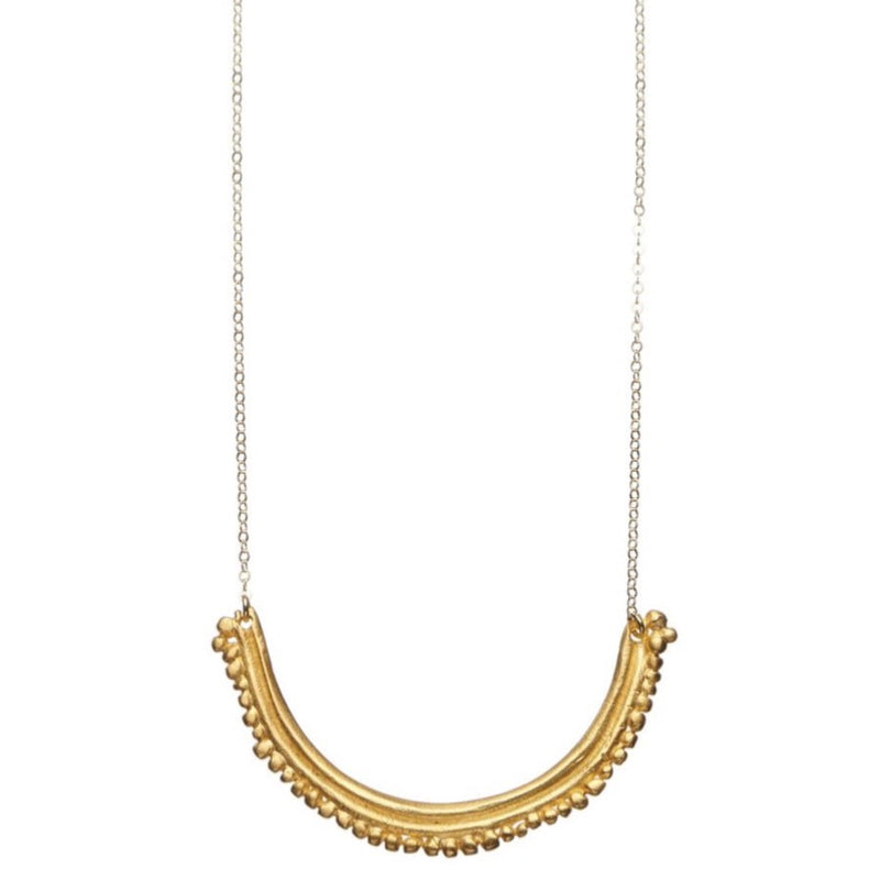 Flora Gold Necklace - Shabana Jacobson